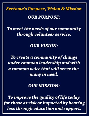 sertoma purpose vision mission